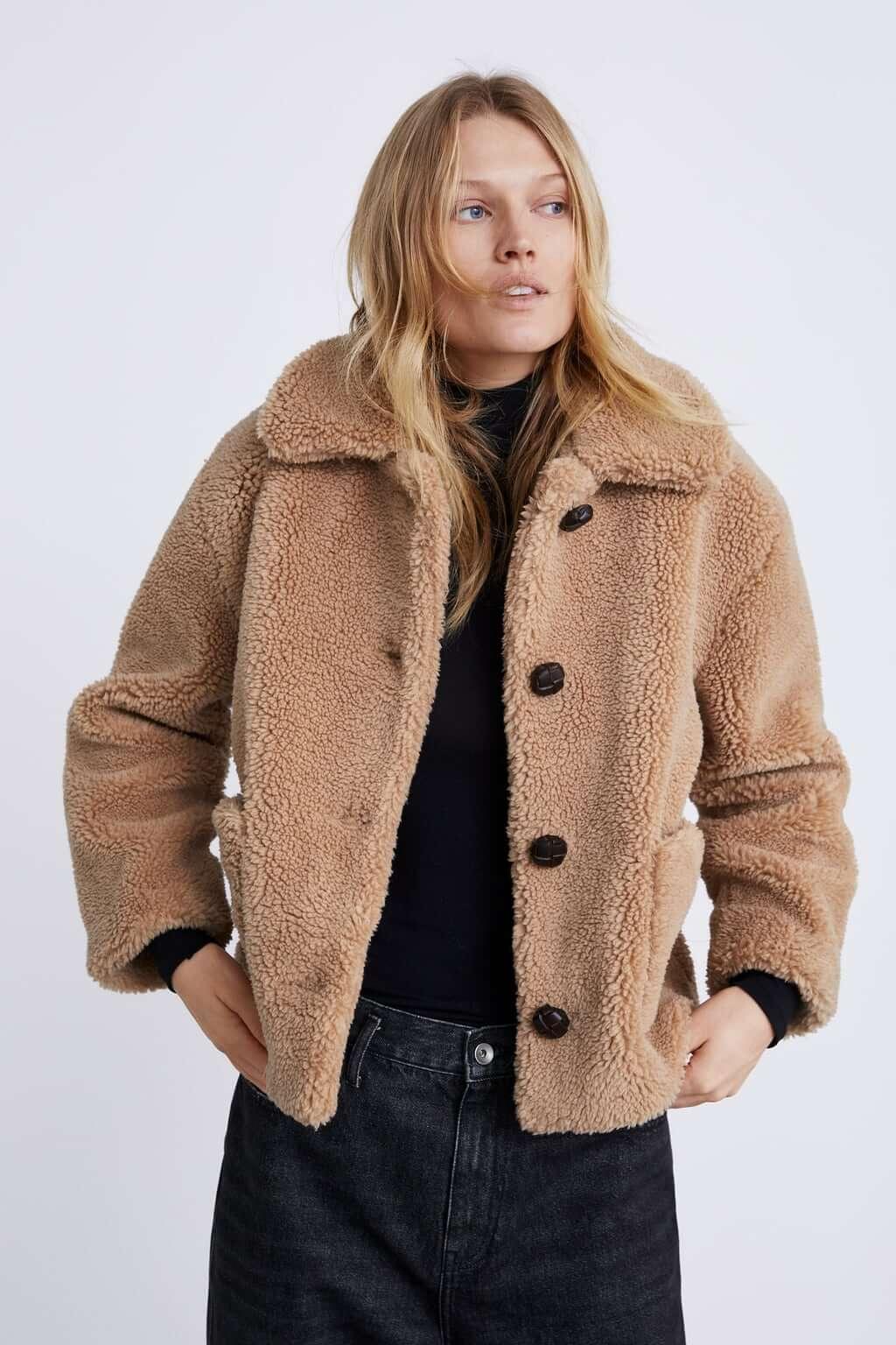 Teddy coat de Zara - abrigo peluche