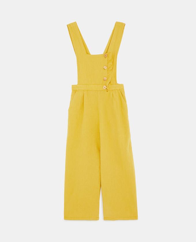 Mono amarillo de Zara.
