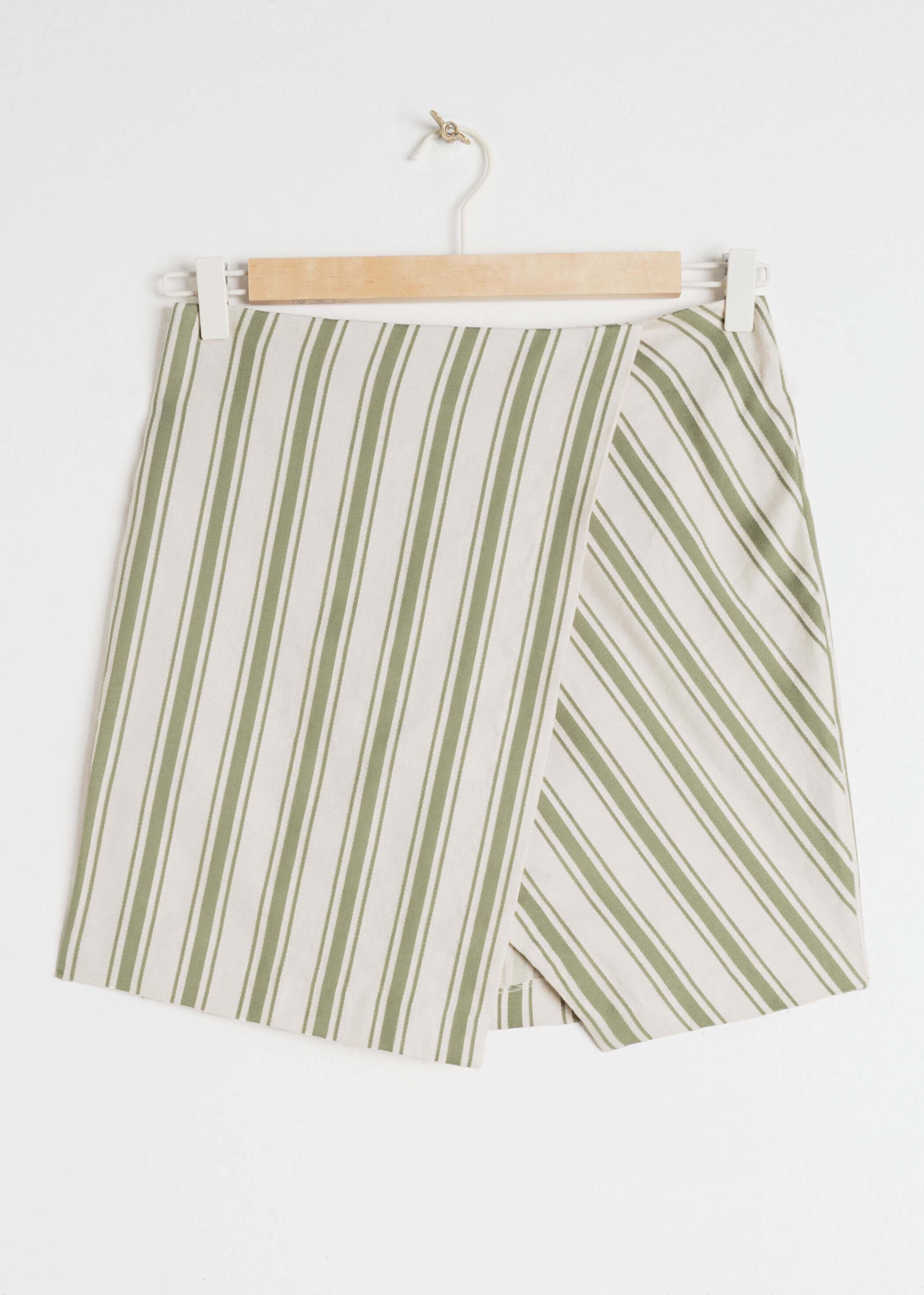 Otherstories mini falda de lino
