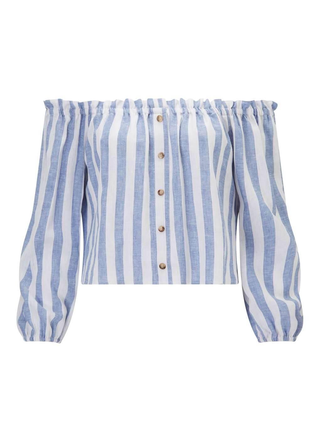 Blusa de lino de MissSelfridge