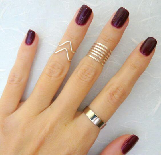 ¿Cómo llevar y combinar los anillos?
