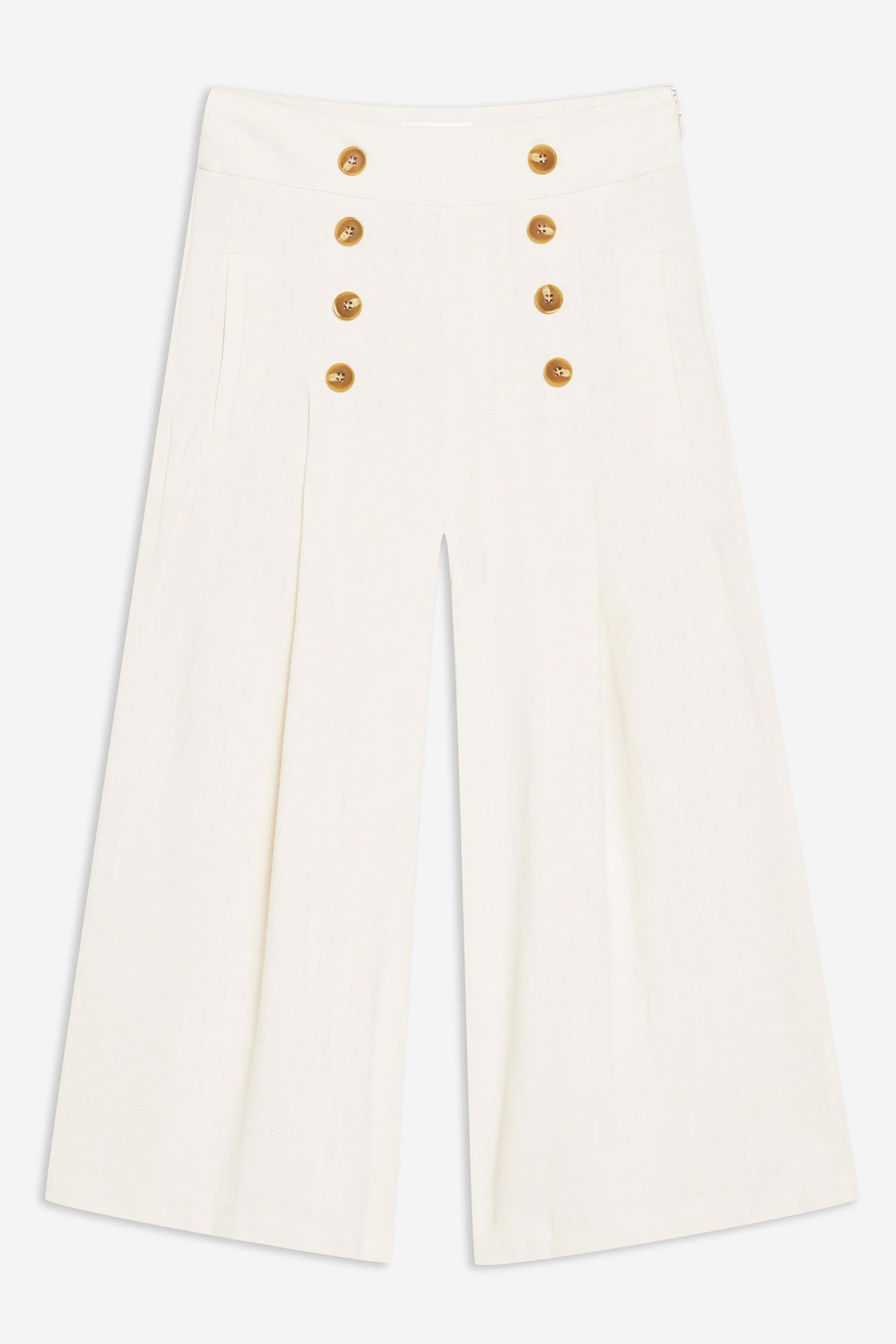 Pantalón de lino de topshop