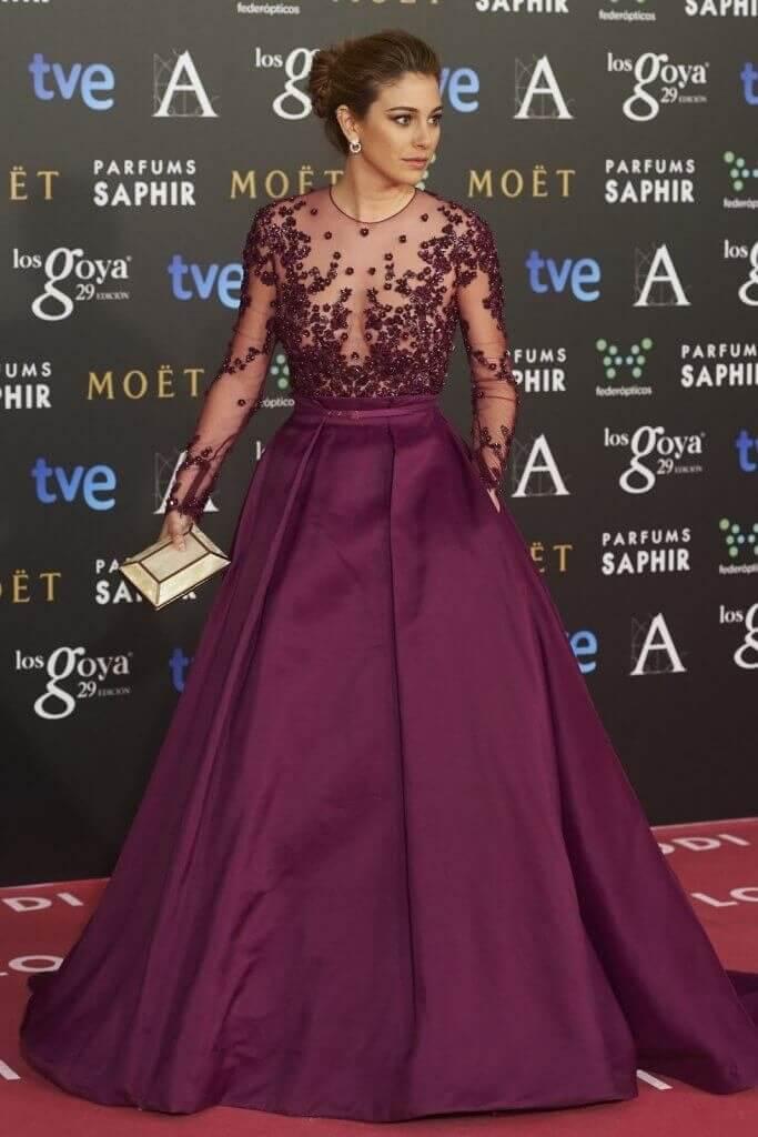 Blanca Suárez en los Premios Goya 2015