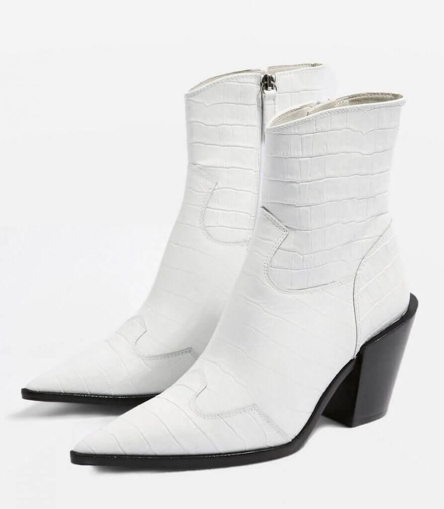 Ankle boots de Topshop.