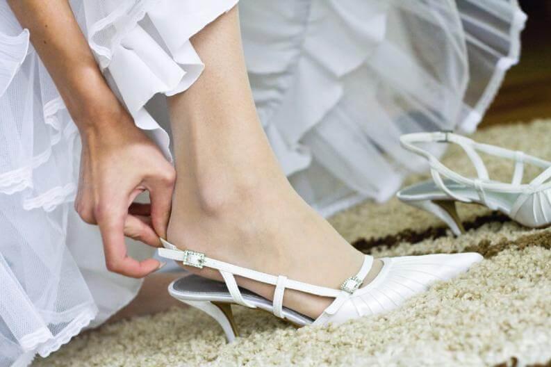 Zapatos perfectos para la boda: slingback.