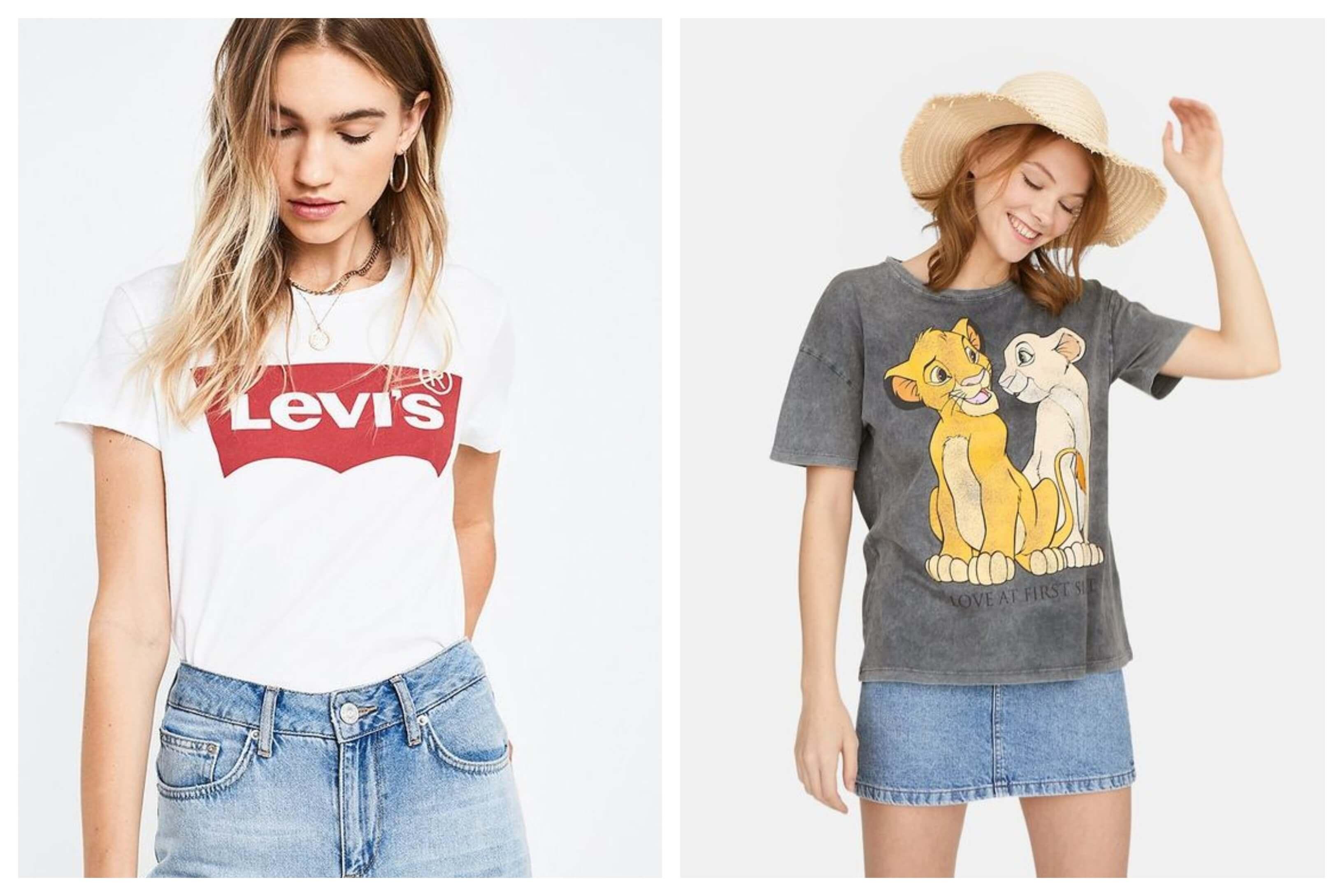Camisetas gráficas: ¿qué nos atrae de ellas?
