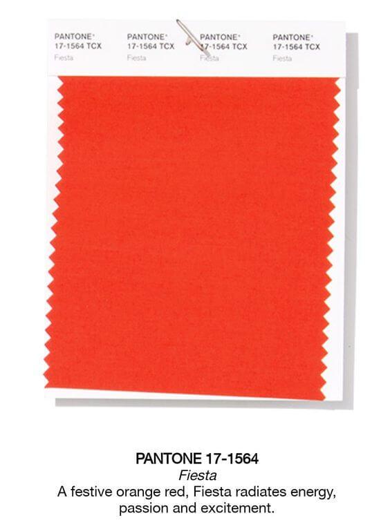 Uno de los colores del año será el Rojo fiesta.