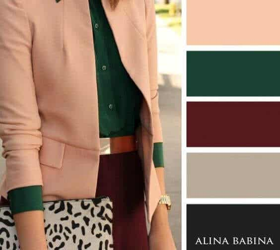 4 combinaciones de colores originales para romper con la rutina