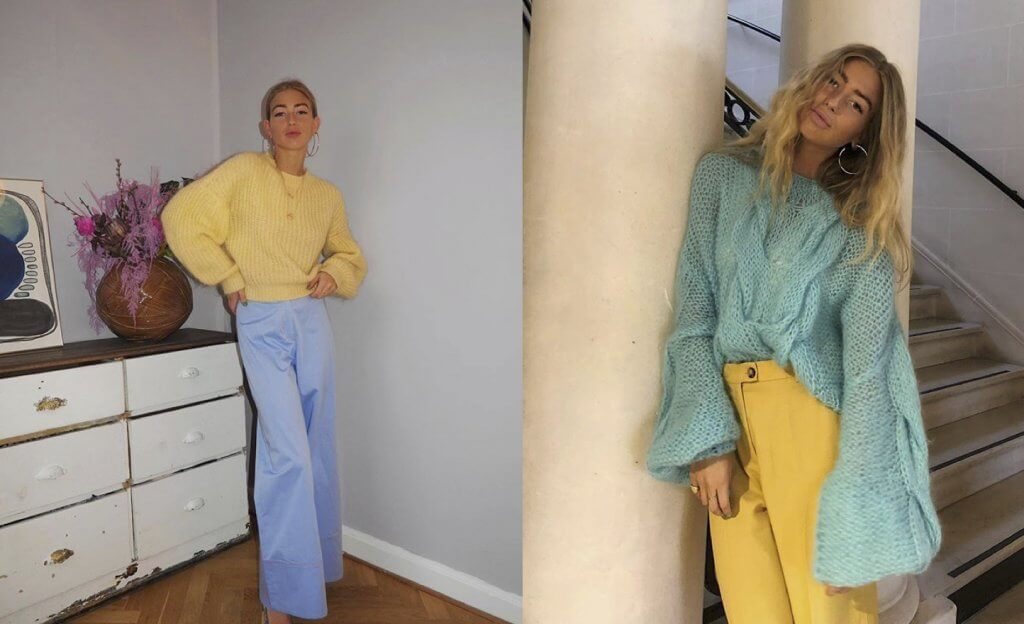 Emili Sindlev looks amarillo
