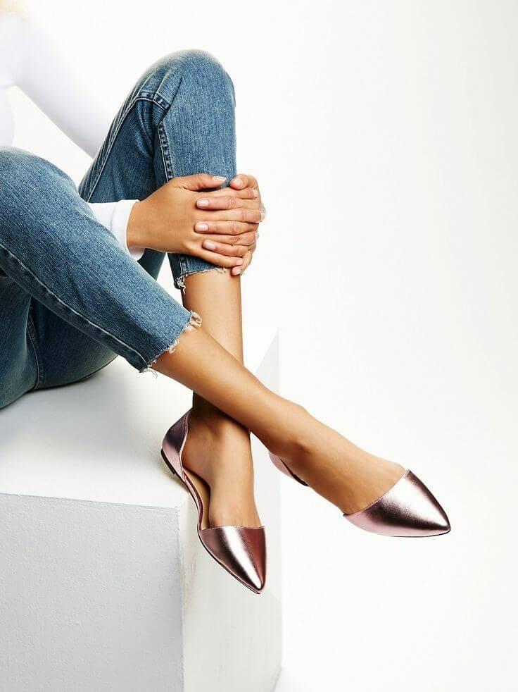 Unas bonitas flats o bailarinas pueden ser un complemento perfecto para muchos looks.