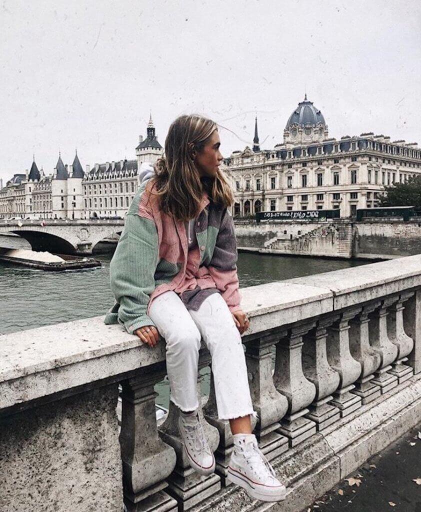 Ideas de looks con pantalón blanco - Carlota Weber