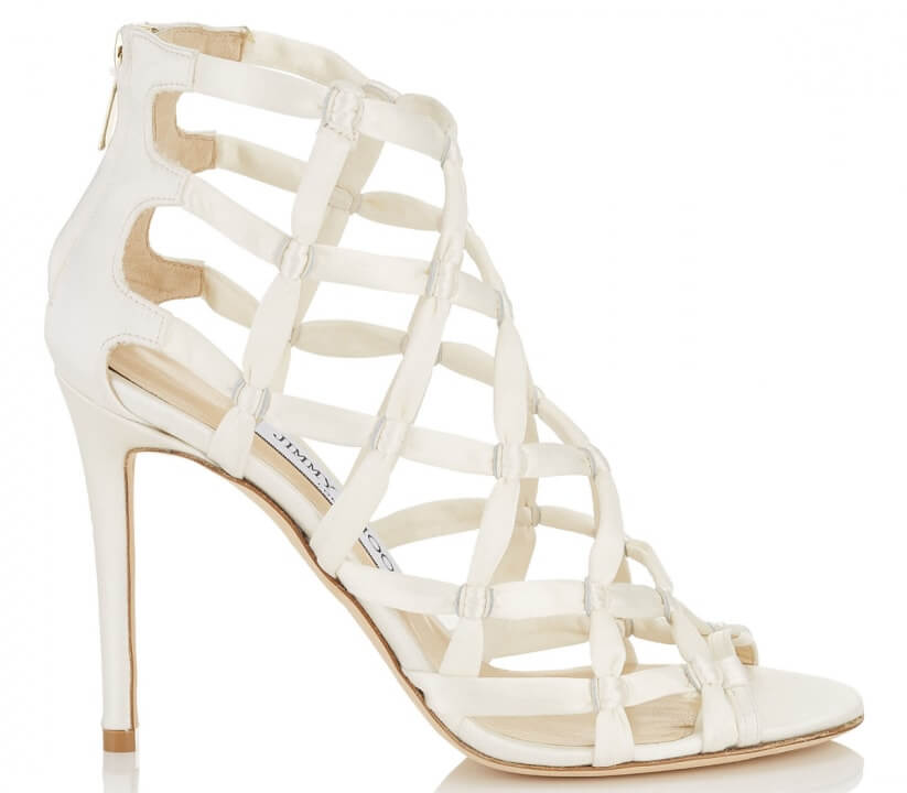 Cage shoes de Jimmy Choo.