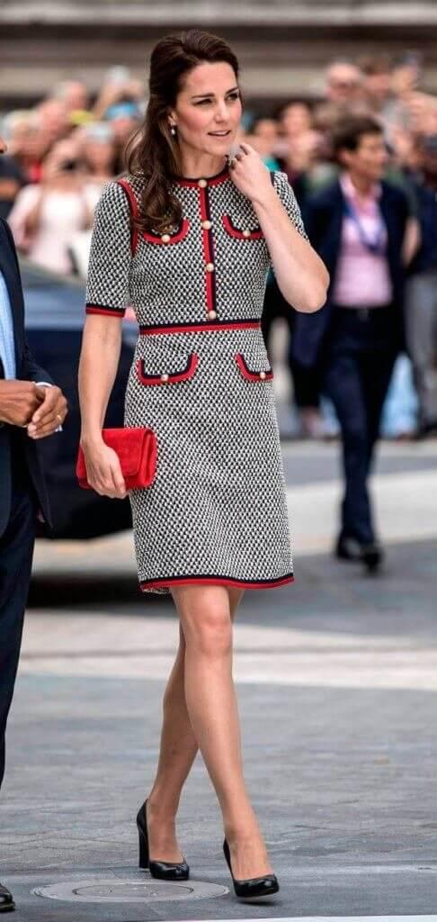Street style de Kate Middleton traje Chanel