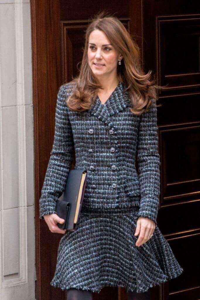 Street style Kate Middleton vestida de Chanel
