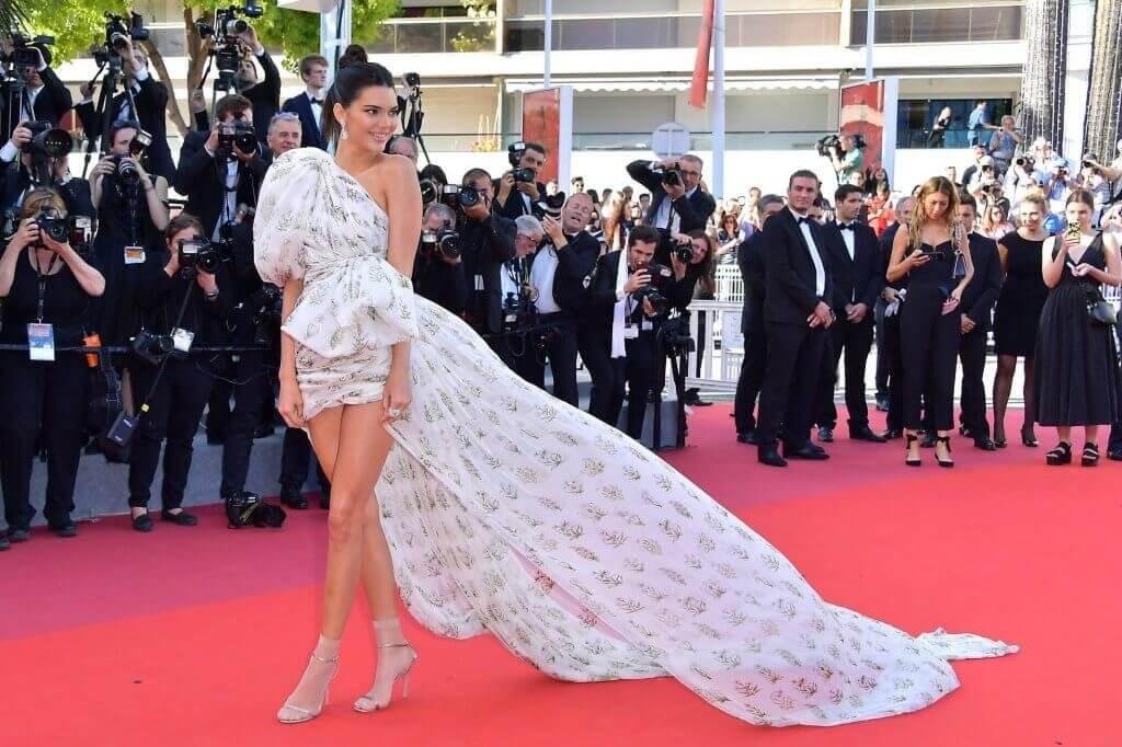 Kendall Jenner en la red carpet del Festival de Cannes 2017