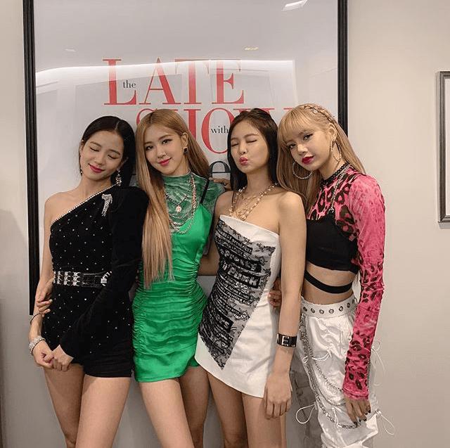 Black Pink, una banda de K-pop muy a la moda.