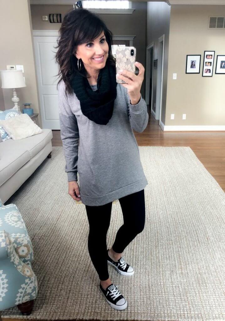 Los leggins pueden combinarse con muchas prendas y son muy cómodos.