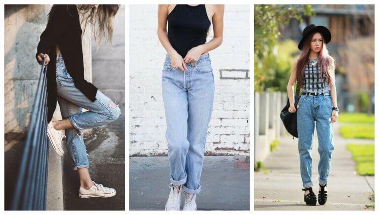 Mom jeans, ¿cómo llevar estos vaqueros?