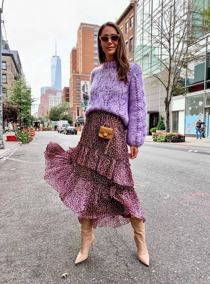 8 jerséis street style para no pasar frío y ser elegante