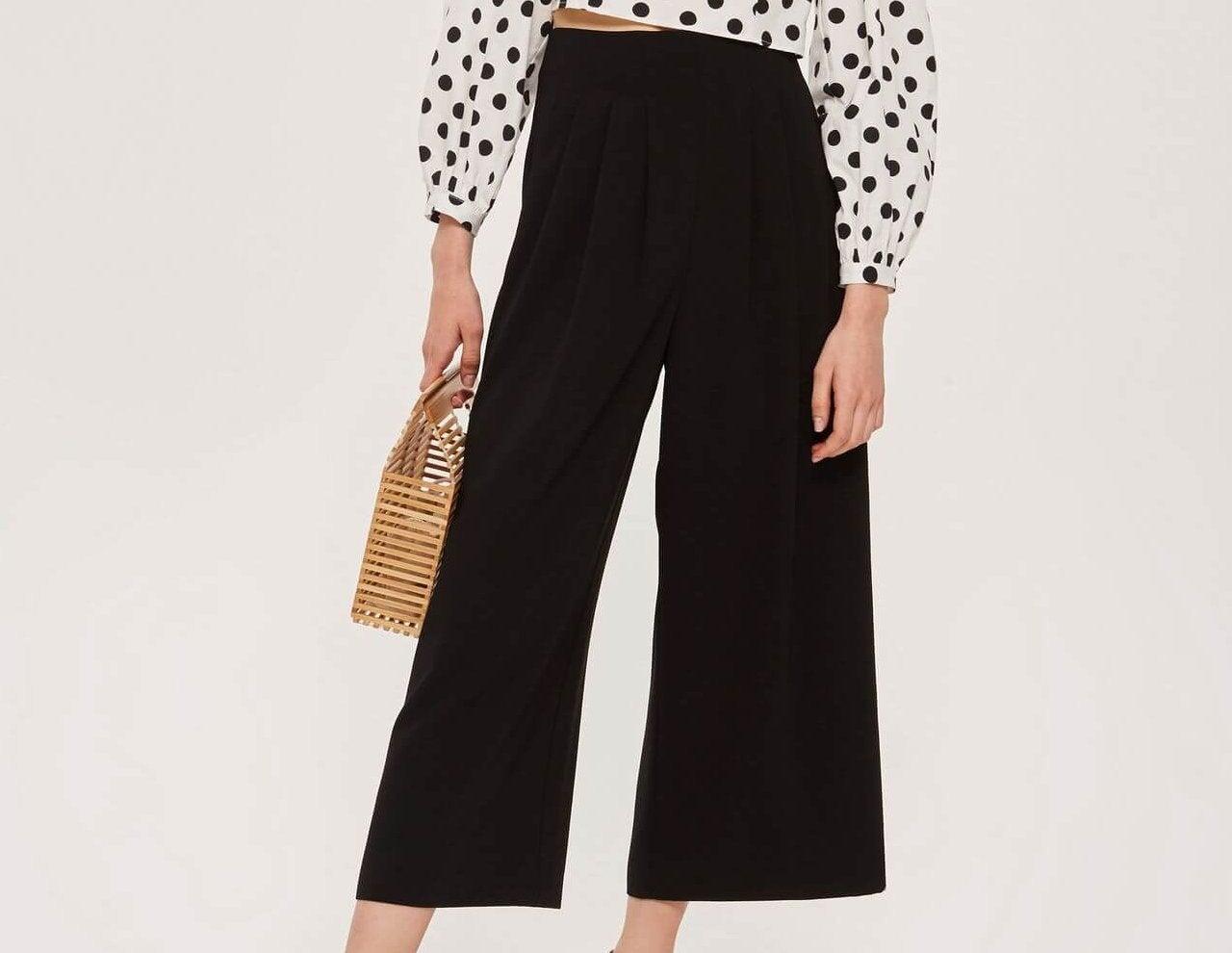 Con qué combinar pantalones culottes
