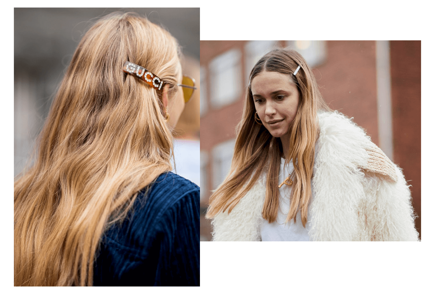 Peinados con horquillas - Tendencia street style .