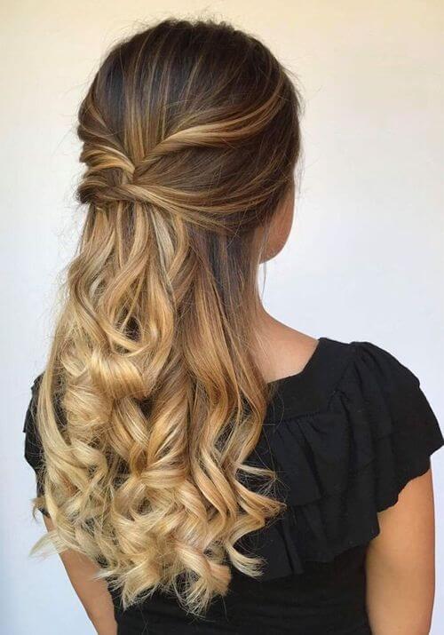 Miradas ganadoras con peinados faciles fiesta Imagen de cortes de pelo tutoriales - 4 ideas de peinados para una fiesta - Unycas