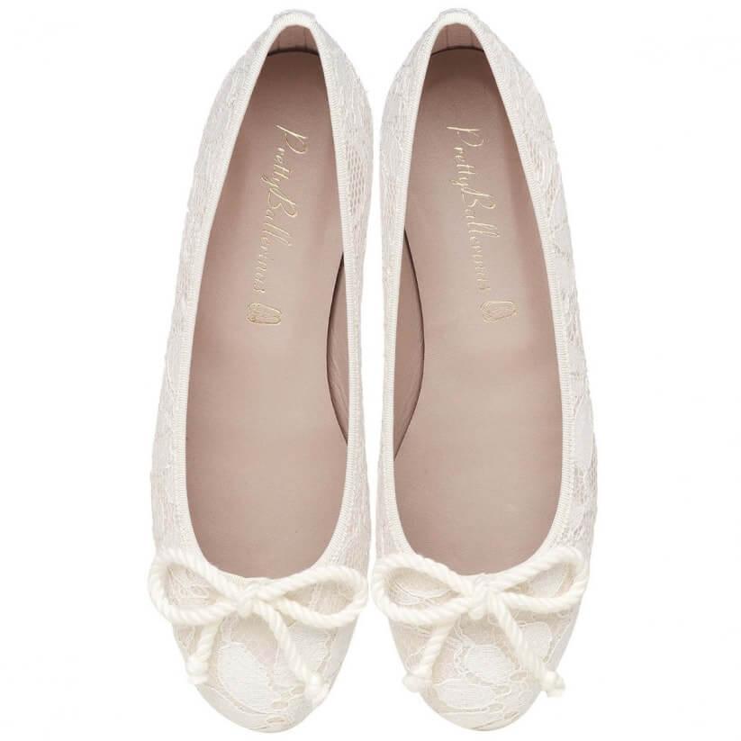 Zapatos perfectos para la boda: ballerinas.