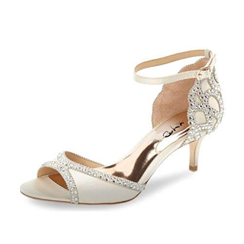 Zapatos perfectos para la boda: ankle strap.