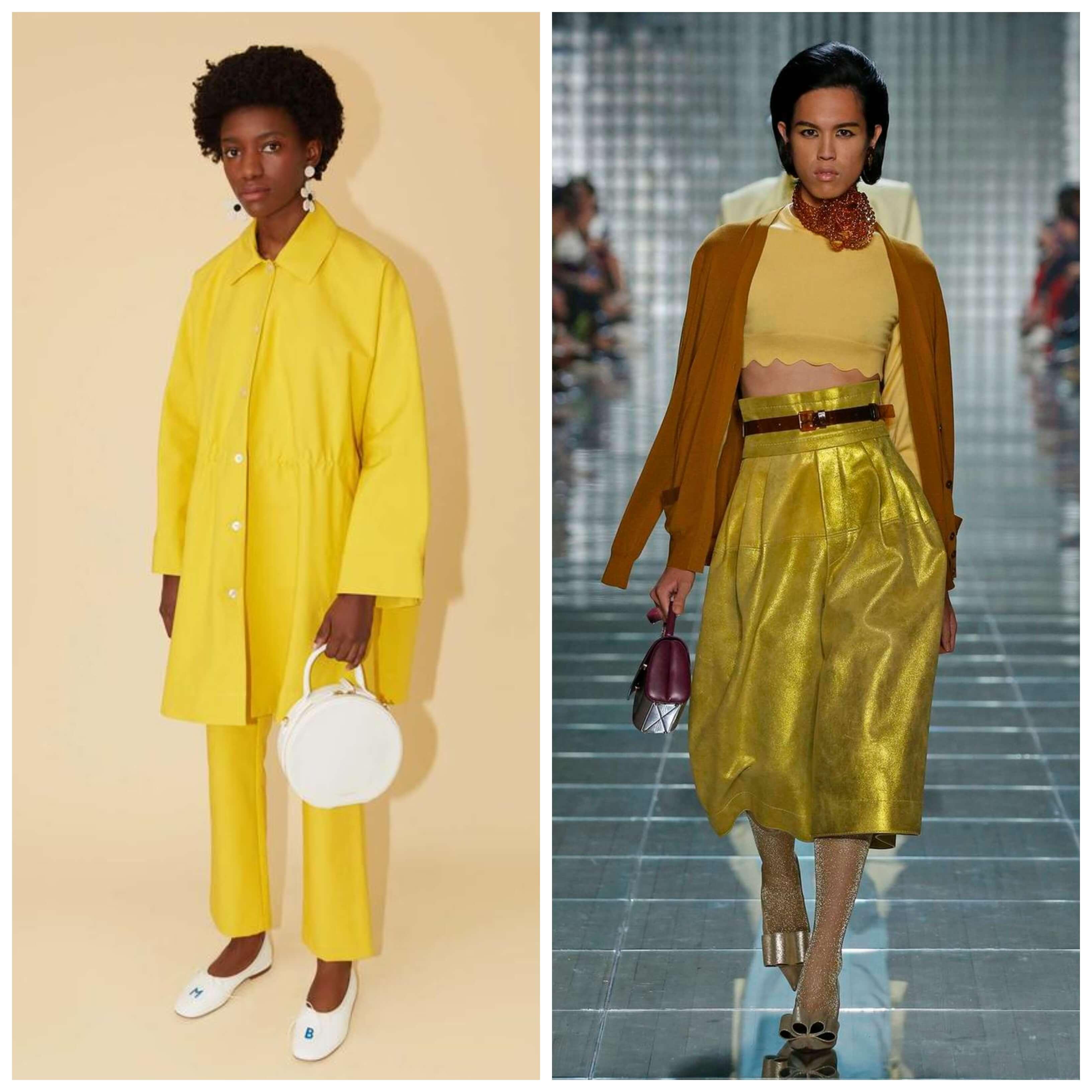 Amarillo y lima, colores de moda en el 2019.