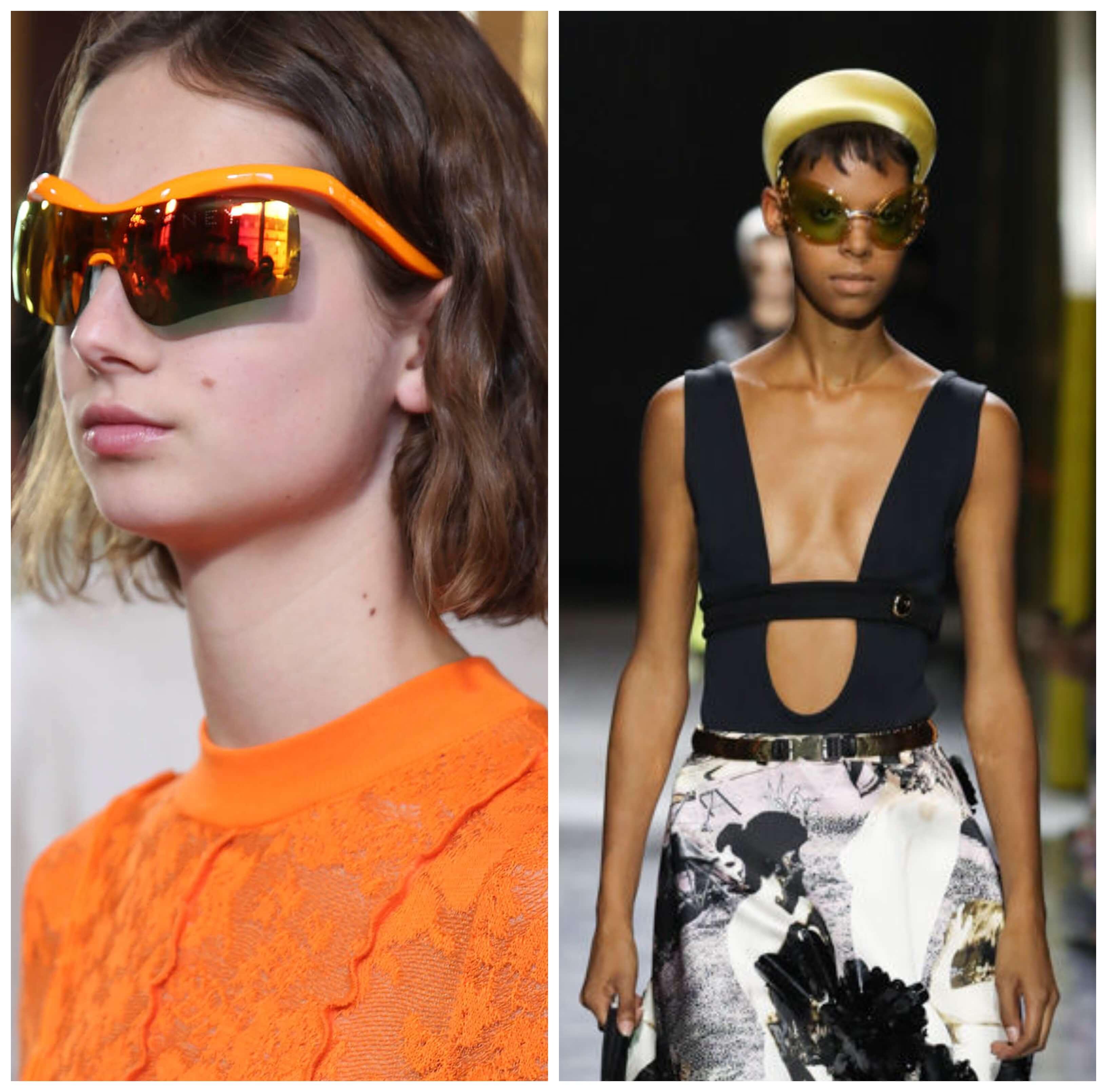 Gafas de sol de moda en el 2019.