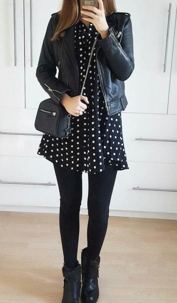 Cómo llevar vestido en invierno sin pasar frío.