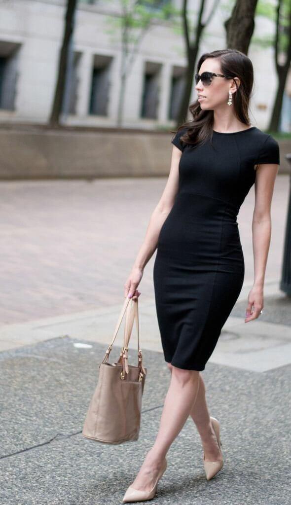 Prendas universales: vestido negro