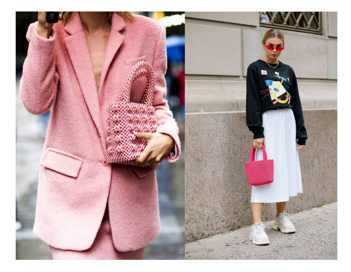 Combinar color rosa