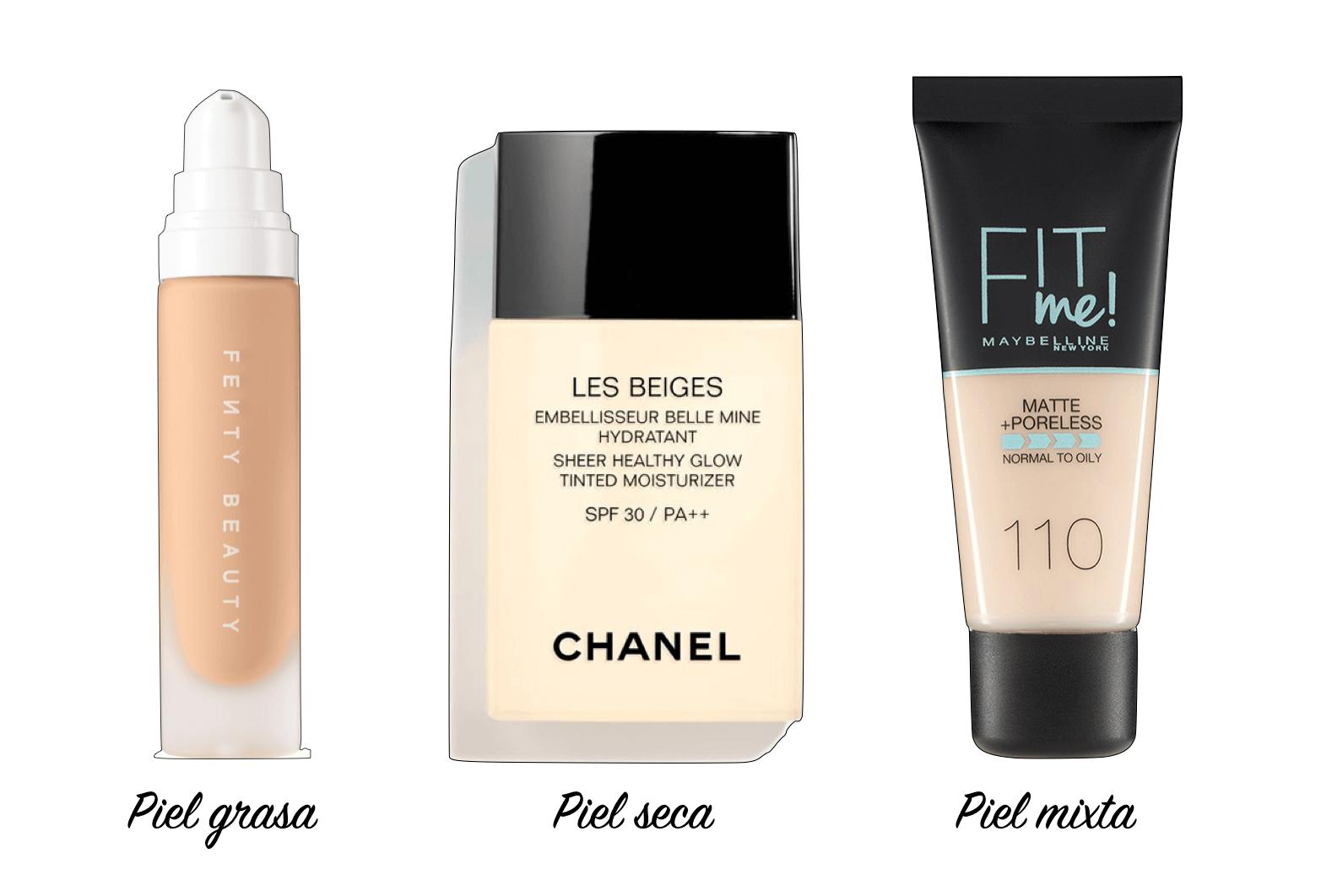 Elegir la base de maquillaje perfecta