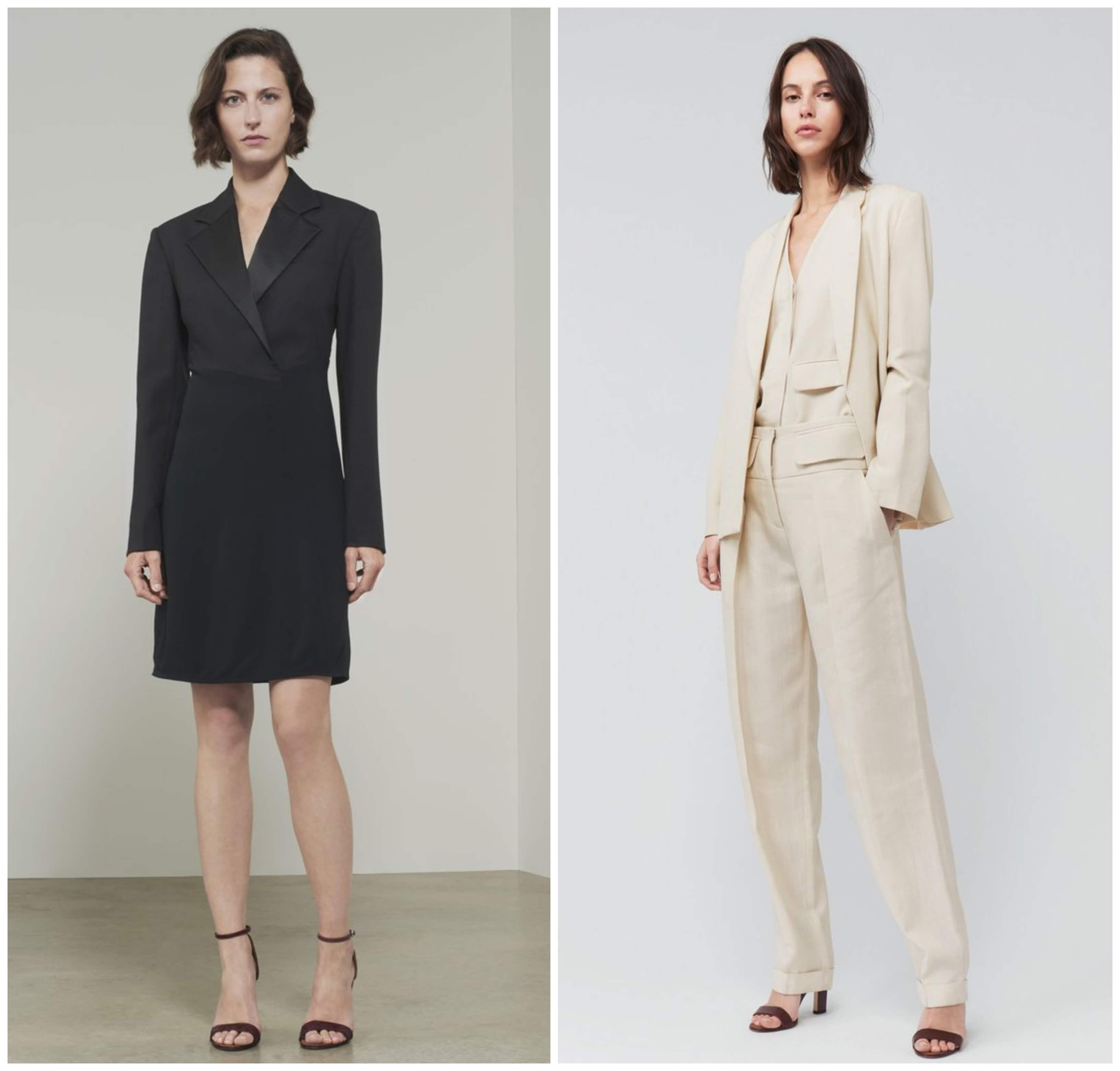 Código de vestimenta formal, estilo Victoria Beckham.