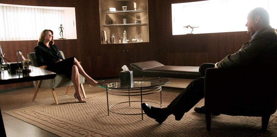 Los Soprano, una de las series sobre psicología.
