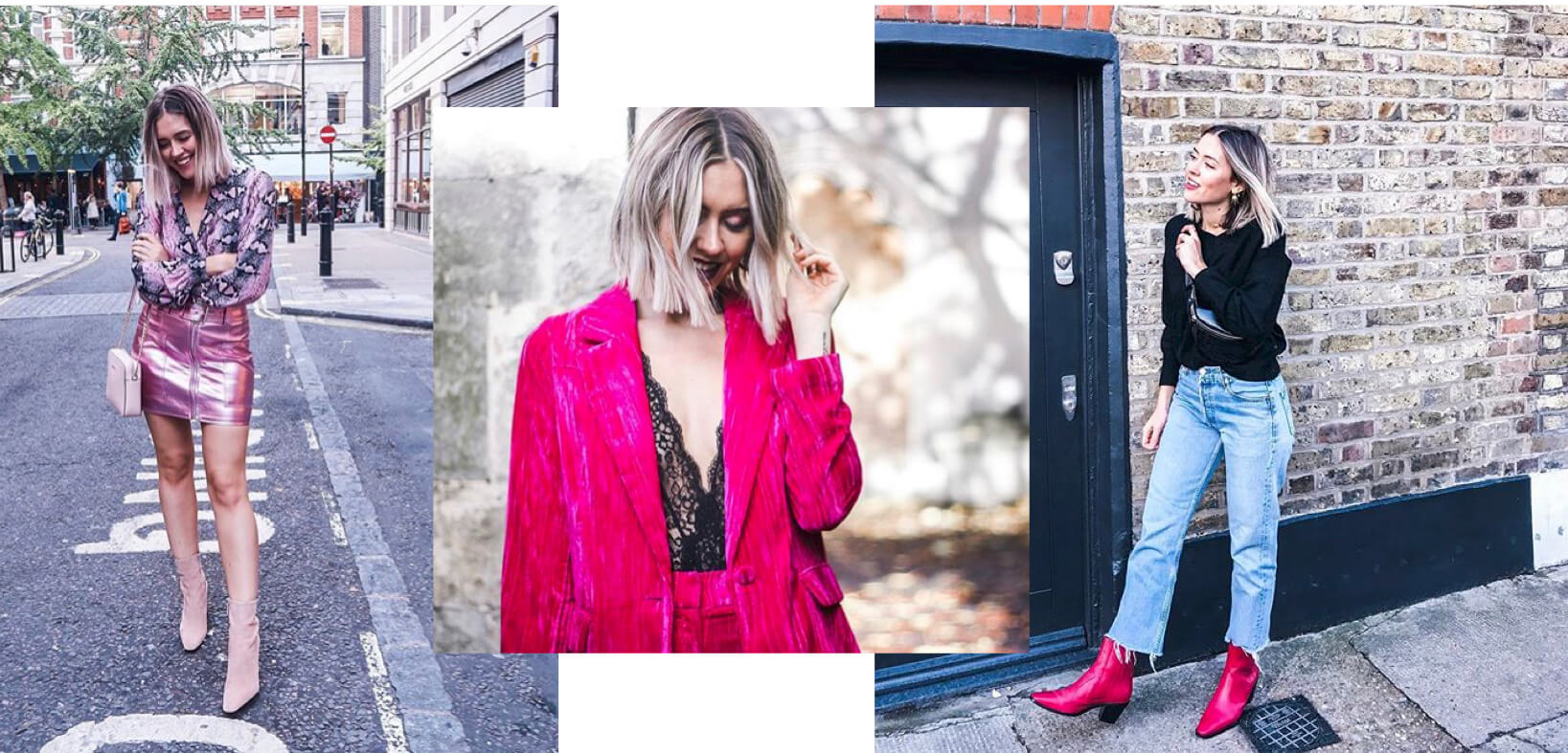 Looks en color rosa y fucsia de Toks