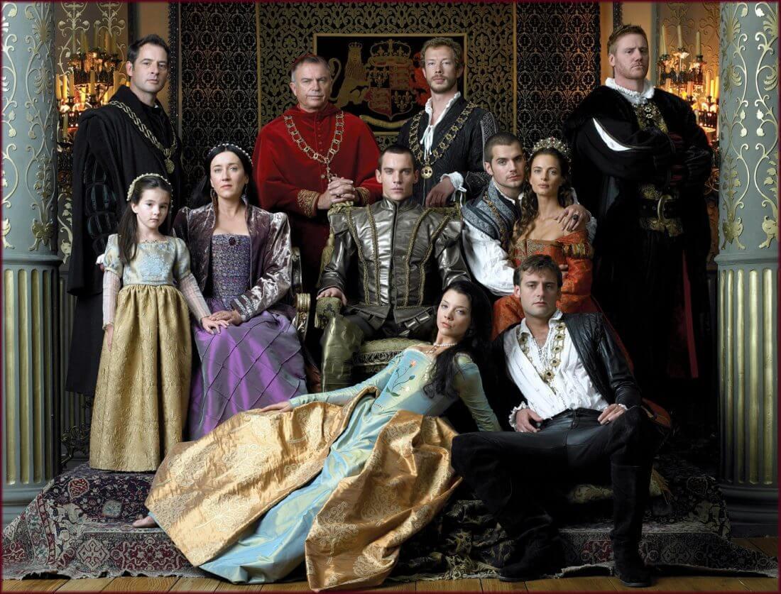 Series de la televisión británica: The Tudors