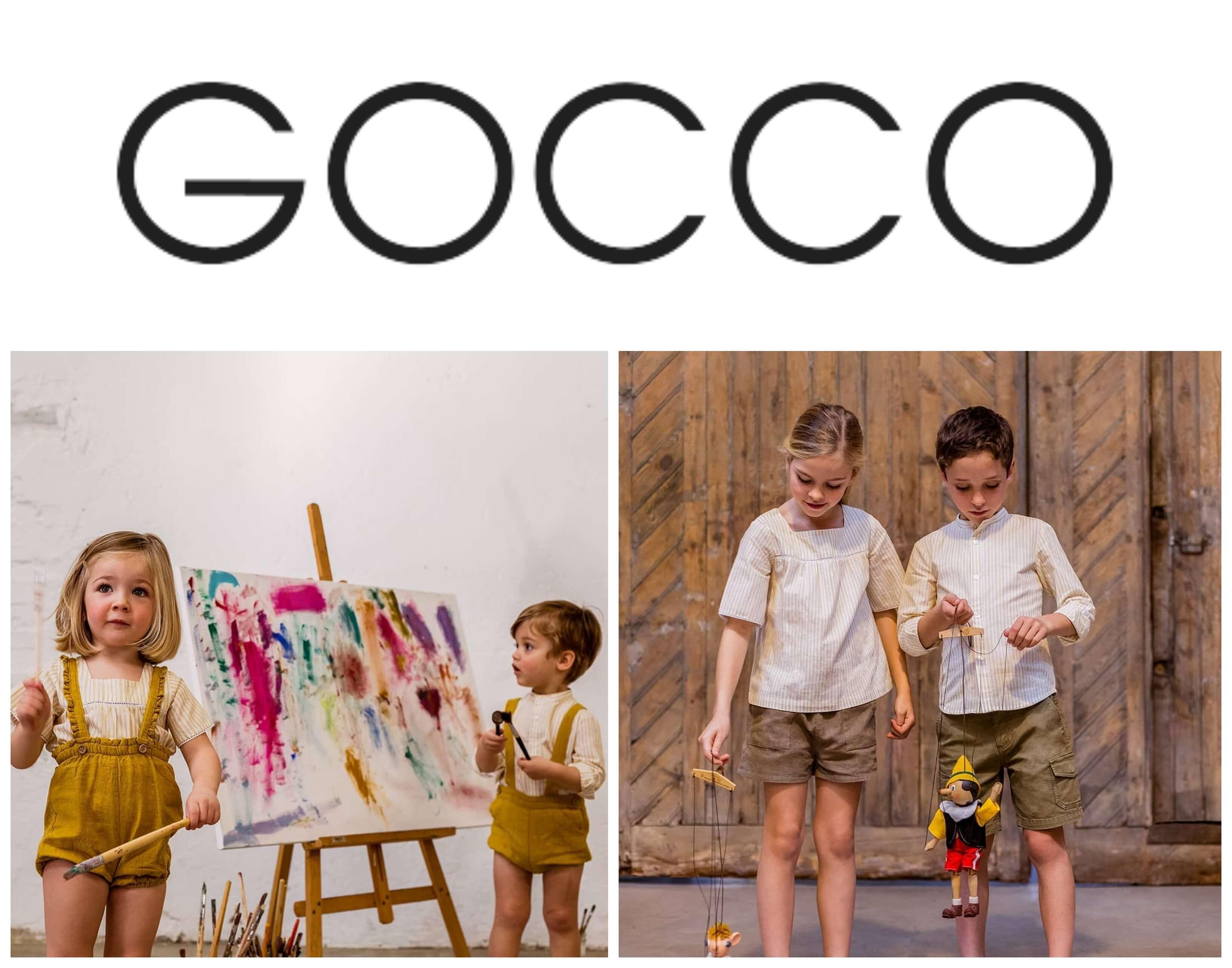 Marca Gocco, moda para niños.