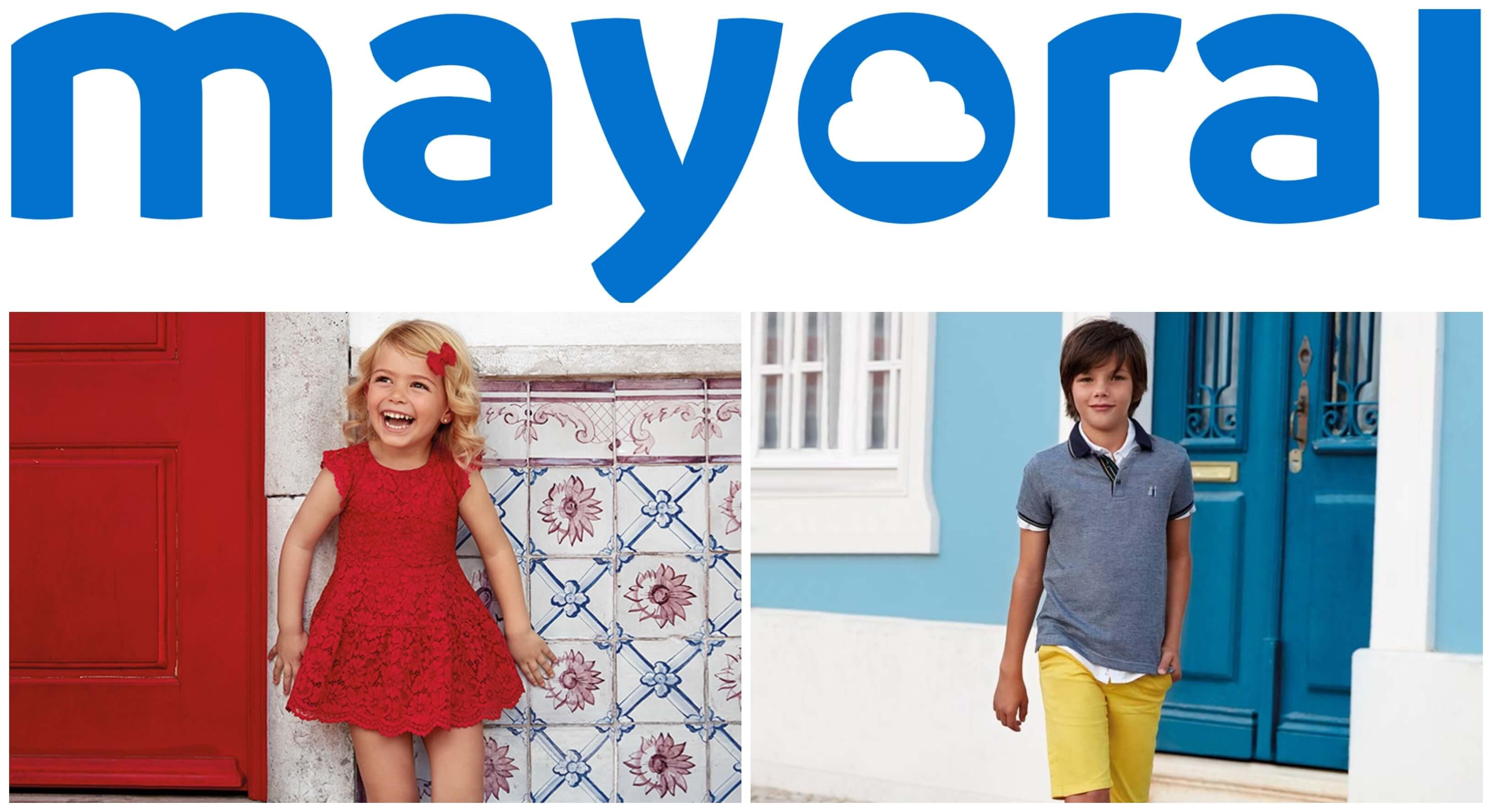 Marca Mayoral, moda para los más pequeños.