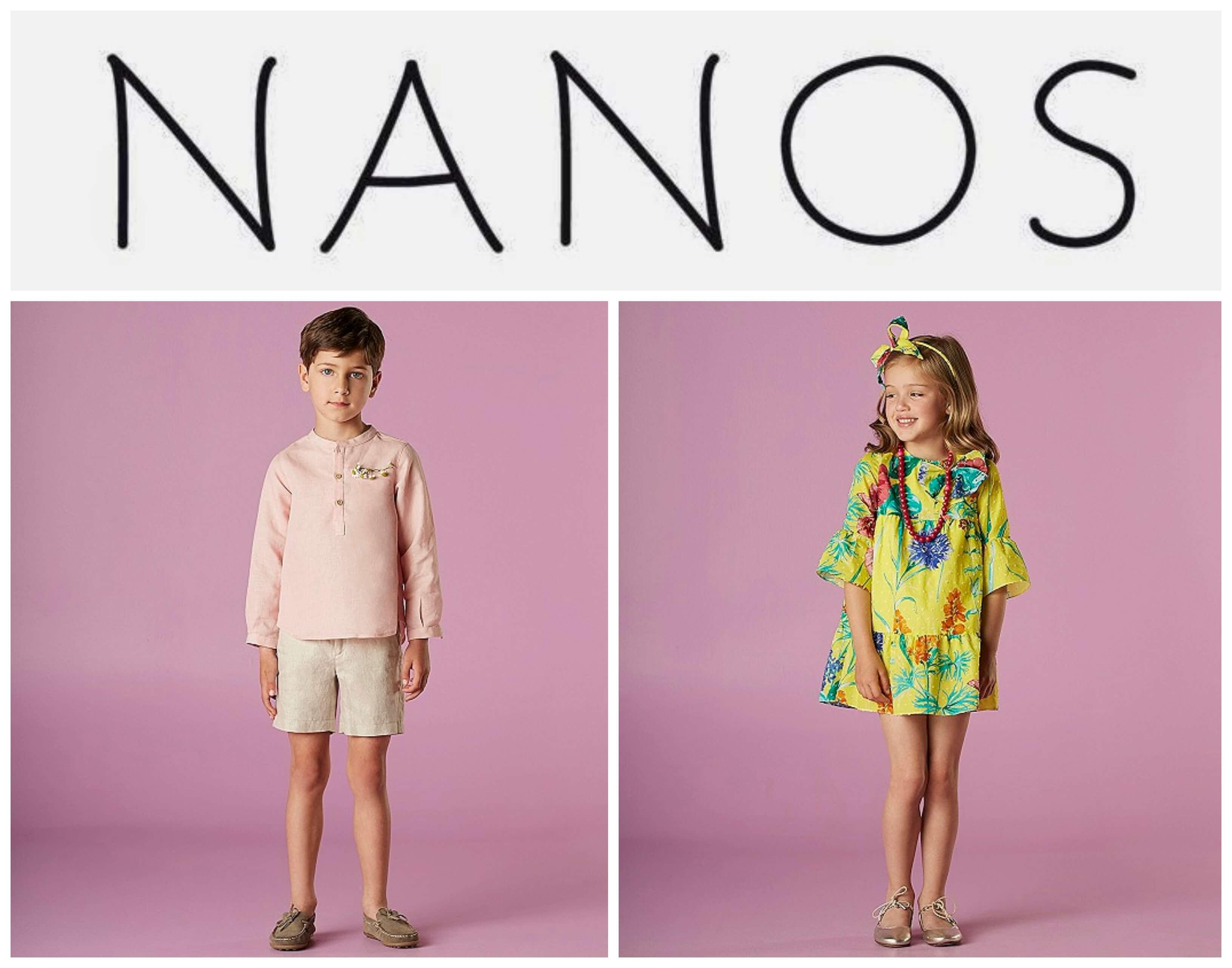 Marca Nanos, moda infantil.