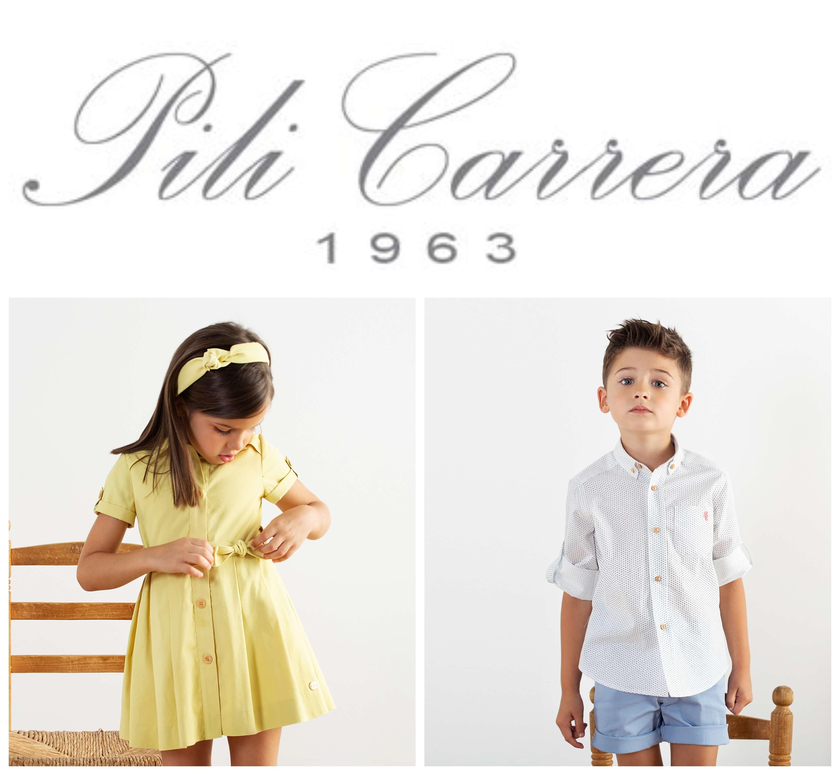 Marca Pili Carrera, moda infantil.