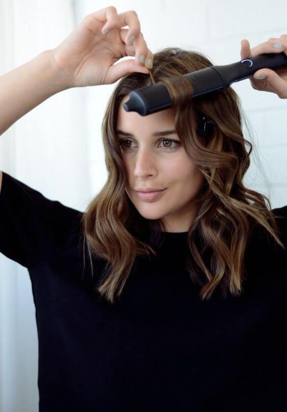Las ondas con la plancha nos ayudan a añadir volumen al pelo.