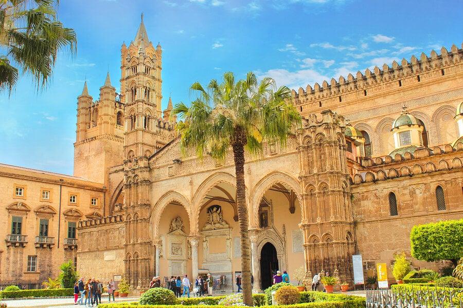 Palermo, Italia. Un destino ideal para una escapada romántica.