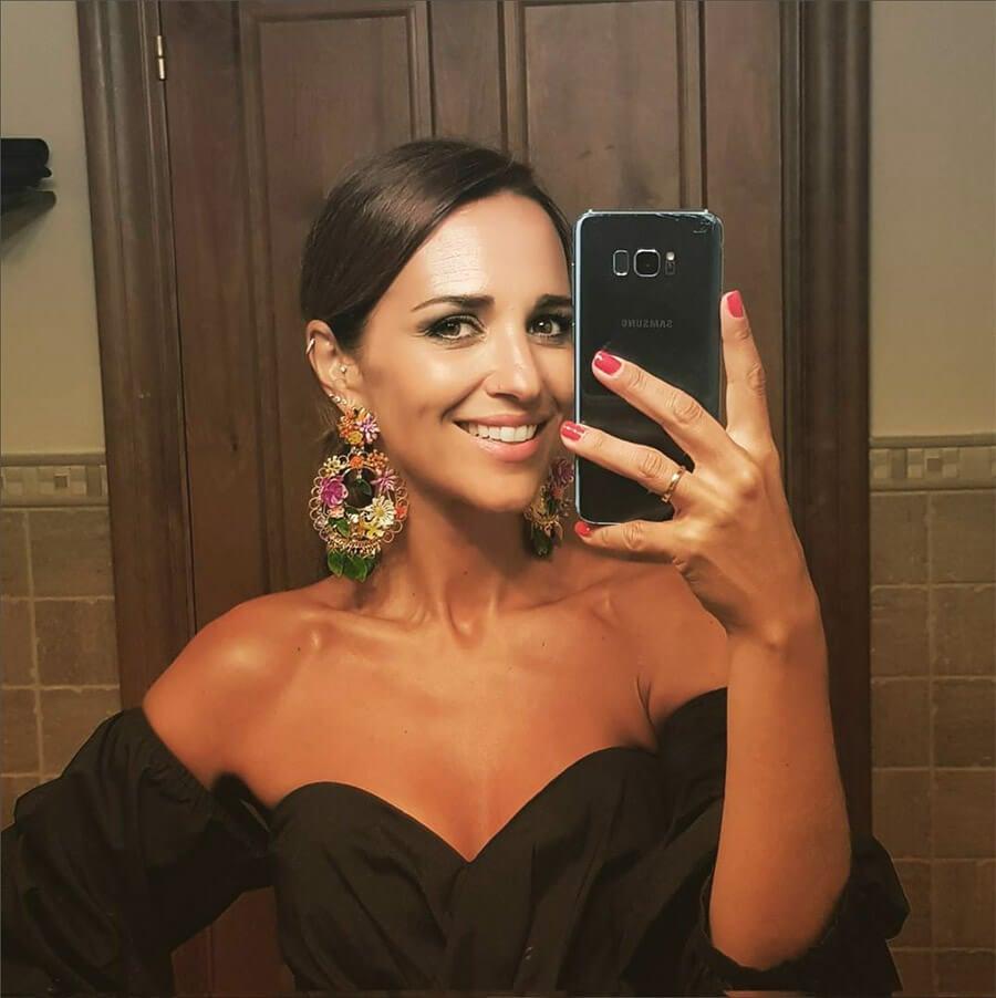 Paula Echeverría se hace un selfie