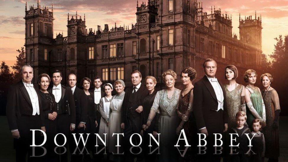 Series de la televisión británica - Downtown Abbey