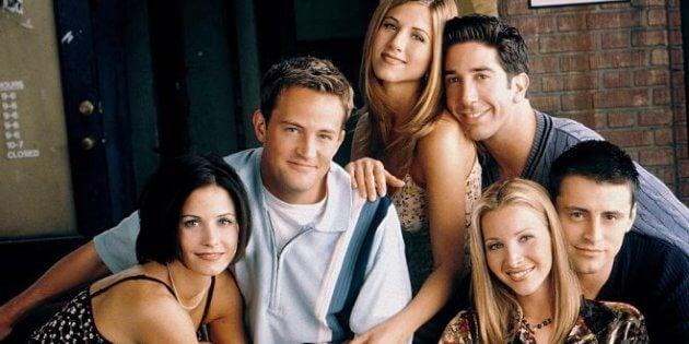 Friends, una de las series de los 90 que marcó a más de una generación.