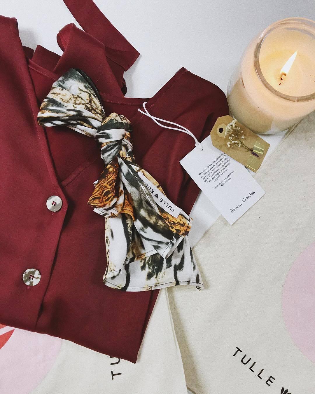 Ropa de Tulle Rouge, otra de las marcas de moda que debes conocer.