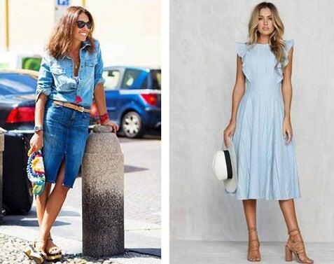 2 outfits simples, que te hacen lucir más joven.